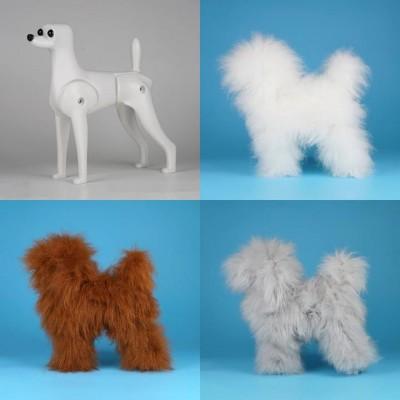 """Ensemble Caniche Toy Model dog et pelisse """"Haute Densitée"""" Opawz"""