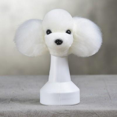 Ensemble  Opawz Tête & perruque de poil - Model Dog BLANC